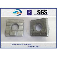 Crane Rail Clips For Railroad Construction / Railway Fasteners KPO Rail Clamp Manufactures