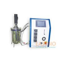 Glass Lab Scale Fermenter , Laboratory Equipment Autoclavable Mechanical Stirred Manufactures