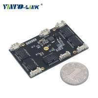 Stock Status Mini Stackable 10/100mbps 5 ports Unmanaged Industrial Ethernet Switch Module Manufactures