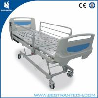 Foldable 4 - Part Bedboard Medical Hospital Beds With Remote Controller Manufactures