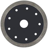 Super Thin Turbo Sintered Circular Diamond Saw Blades Hot Press For Smooth Cutting Manufactures