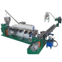 PE Plastic Waste Recycling Machine , Cooling Plastic Recycling Granulator Machine Manufactures