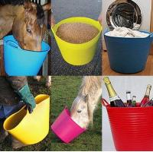 colorful garden flexible plastic barrels Manufactures