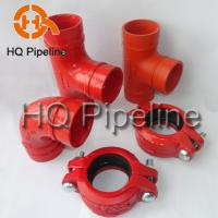 UL/FM Ductile iron grooved fittings Manufactures