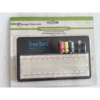 ROHS ABS Round Hole Breadboard Circuit Projects 830 Points With Aluminum Plate Manufactures