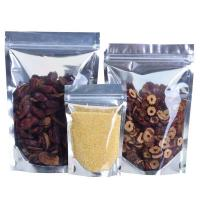 Re Sealable Plastic Ziplock Bags Food Packing Eco-Friendly for stationery Manufactures