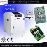 China White Japan Pcb Board Automatic Labeler Machine With CNC Control on sale