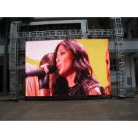 China Full Color Rental Led Billboards Display , Ultra Thin , Ultra Light Eyes Protected on sale