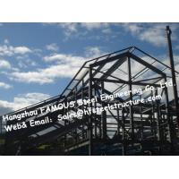 Quality Chinese Prefabricated Steelwork Design And Qualified Q345 Metal Structure for sale