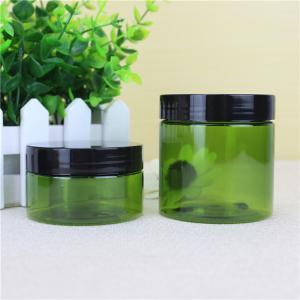 China Clip Cap Cream PET Plastic Jars , 16g/ 25g Small Plastic Jars With Lids on sale