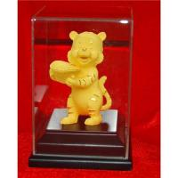 China Cartoon Tiger with Gold Ingot for Wealth Feng Shui on sale