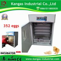 Egg Incubator China products/suppliers holding 352 Eggs Digital Automatic Poultry Chicken Egg Incubator for Sale Manufactures