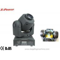 Professional 12 Watt White Led Moving Head Lights  7 Colors Wheel  Mini Size  Plasric Body X-74 Manufactures