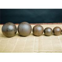High Hardness Steel Grinding Media Balls Multipurpose For Cement Mill Manufactures