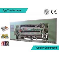 China Fully Auto Molded Plastic Tray Making Machine For Egg Tray / Egg Carton / Seeding Cup Production Line on sale