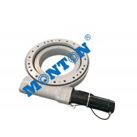 Vertically Mounted Worm Gear Slew Drive For Aerial Working Platform Manufactures