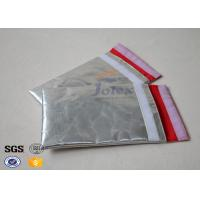 Money / Document Safe Bag Fiberglass Fabric Waterproof Fire Resistant Material Manufactures