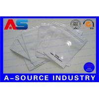 Fine Aluminum Foil Bags / Pouch Zip - Lock For Pharmaceutical Steroid Oral Pills Manufactures
