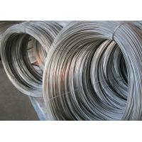 Small Gardening Hot Dipped Galvanized Wire , Galvanized Metal Wire 5kg / Coil Manufactures