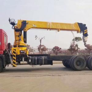 CAMC Engine Small Telescopic Truck Mounted Crane With Bearing Support Manufactures