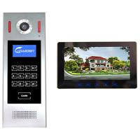 China 4 +2 wires 10 inch Building Video Door Phone intercom system smart home system video intercom on sale