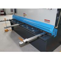 Welded Structure Hydraulic Sheet Metal Shearing Machine With DRO System 16mm 6m Manufactures