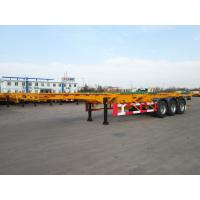 Quality 3 axle 20ft  truck manufacturers container semi trailer - CIMC for sale