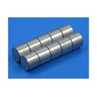 Quality Cast Cylinder Alnico Rod Magnets Shining Color Corrosion Resistance for sale
