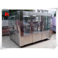 PLC Control PET Bottle Filling Machine , Liquid Bottle Filling Machine High Accuracy Manufactures