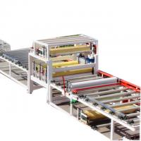 China Insulation Decorative Integration Gypsum Board Lamination Machine Production Line on sale
