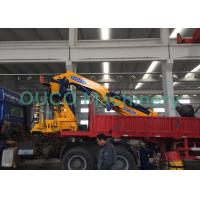 High Safety Pickup Truck Mounted Jib Crane 22T 360 Degrees Continually Rotary Manufactures