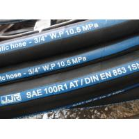 R1 Wire Braid Rubber Hydraulic Hose Manufactures