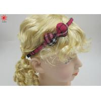 Cute Small Plastic Bow Hair Bands For Children , Pretty Hairband Manufactures