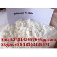 Raw Bulking Cycle Hormone Steroid Boldenone Acetate Powder CAS 2363-59-9 Manufactures