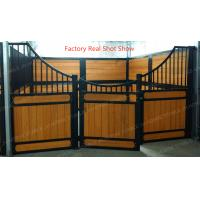 50x50mm Hdpe Board Horse Stable Partitions With Bamboo Equine Stall Plank Manufactures