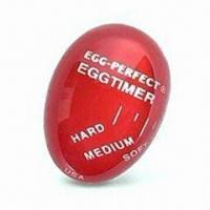 Egg-shaped Changing Color Timer, Measures Ø8.5 x 18cm, Food Safe, Made of Resin Manufactures