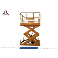 China 3.5m lifting Height Stationary Hydraulic Scissor Lift Platform for Workshop on sale