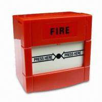 Manual Call Point Fire Alarm with 24V DC Operating Voltage, 30mA Maximum Current and Reset Key Manufactures