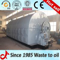 The fully automatic waste tire recycling oil pyrolysis plant for Bangladesh Manufactures