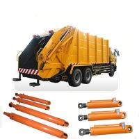 China Sanitation Vehicles Garbage Truck Hydraulic Cylinders / Double Acting Hydraulic Cylinders on sale