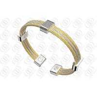 18K Gold Stainless Steel Magnetic Bangle Manufactures