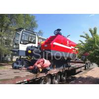 360° Turning Hydraulic Telescopic Crawler Crane , Max 100T Lifting Capacity for sale