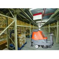 Big Shape Battery Powered Floor Scrubber Dryer Machine To Clean Larger Warehouse Or Shopping Mall Manufactures