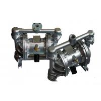 Low Noise Air Operated Double Diaphragm Pump Stainless Steel For Chemical Industry