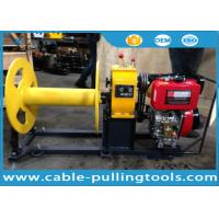 Cable Pulling Tools 3 Ton Diesel Engine Winch For Pulling Wood for sale