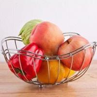 Wire Fruit Basket, Eco-friendly, Practical, Mothproof and Moisture Proof, OEM Orders Accepted Manufactures