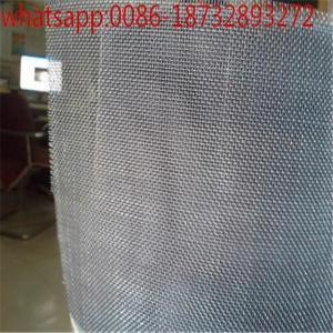 China 100 mesh Ti / Titanium filter Wire Mesh/European markets standard white and black Ti wire mesh for fliter on sale