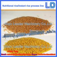 Instant Rice/Nutritional Rice Food Processing line Manufactures