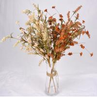 The simulation flower,Artificial flowers,Crepe paper grass flower ,Dried flowers, hardcore cotton ,pine cone Manufactures