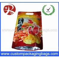 China Custom Foil Reclosable Plastic Food Packaging Zipper Bag With Stand Up on sale